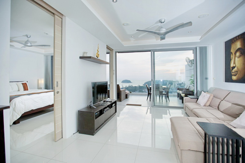 Foreign freehold ocean view condo in Kata for Sale
