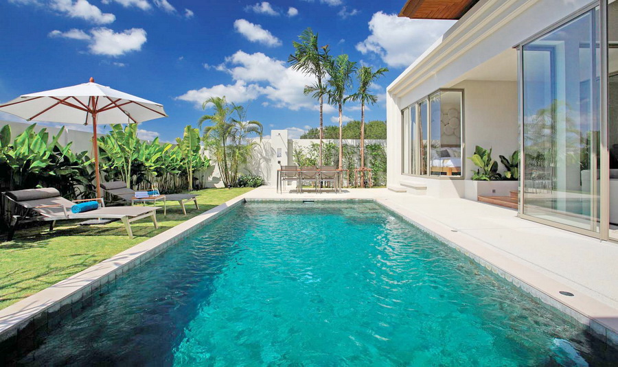 Pool villas in Cherng talay for sale
