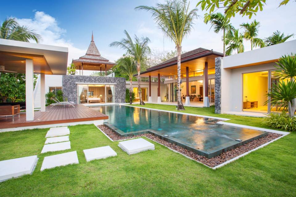 Tropical pool villas in Layan for Sale