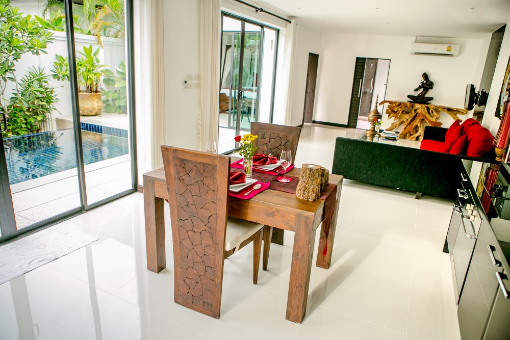 Luxurious 1 Bedroom Pool Villa in Layan For Sale