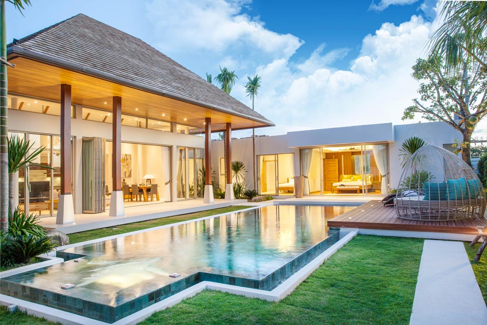 Tropical Pool Villas in Bangtao for Sale