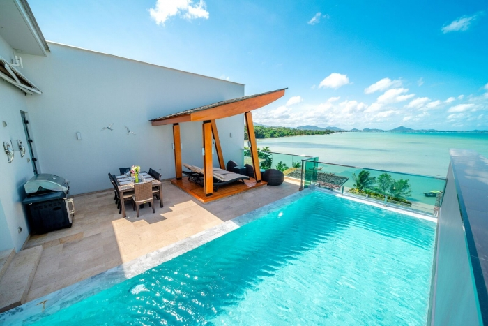 Luxurious Sea View Villa in Rawai for Rent