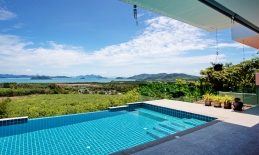 Phuket Tropical Property - Luxury sea view villa for sale