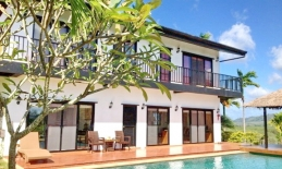 Phuket Tropical Property - Ocean view villa in Cape Yamu For Sale