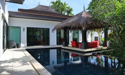 Phuket Tropical Property - 3 BRs pool villa  in Layan for Sale