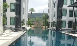 Phuket Tropical Property - Pool access apartment in Kamala for Rent