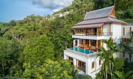 Phuket Tropical Property - Panoramic ocean view on Surin hill for Sale